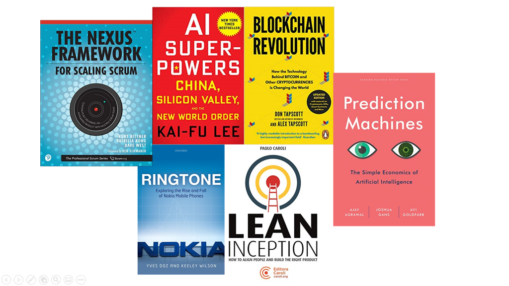 Books Digital Transformation
