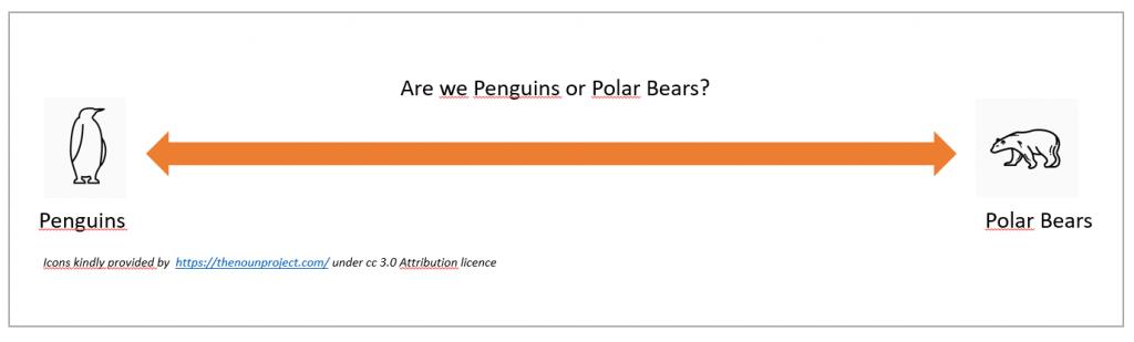 Penguins vs. Polar Bears