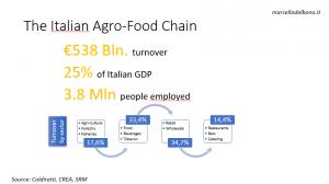 Italian Agro-food chain
